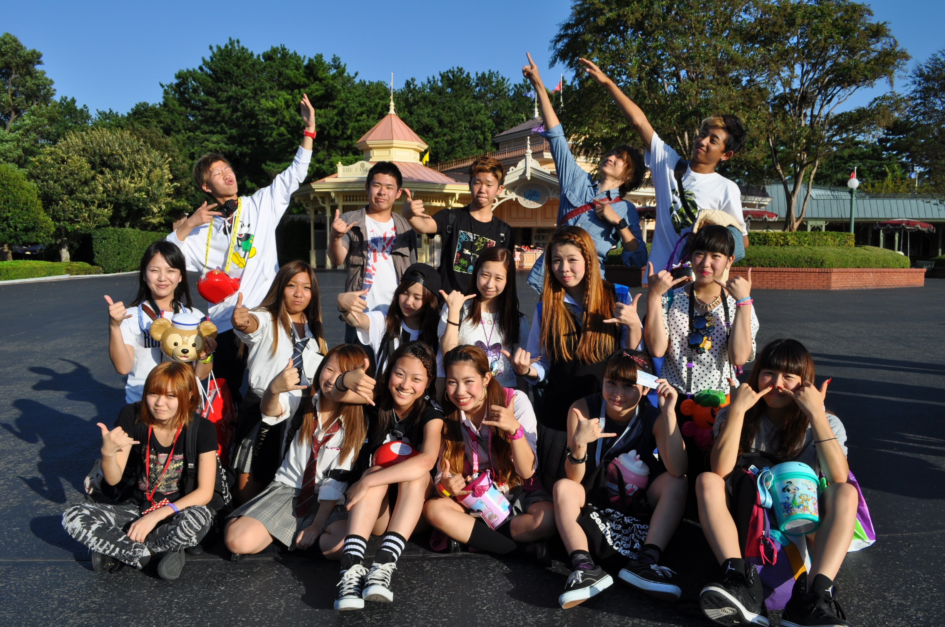 【2013年度】秋の遠足@東京ディズニーランド♪